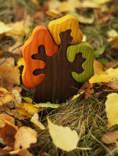 Load image into Gallery viewer, Autumn Olive Tree - Wooden Handmade Montessori Open-ended Toy