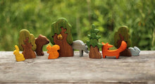 Load image into Gallery viewer, The Fox - Wooden Animal Handmade Montessori Open-ended Toy