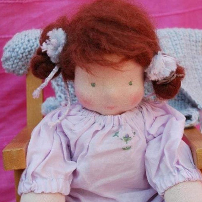 Dipsy Waldorf Big Doll OOAK - Unique handmade toy