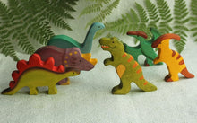 Load image into Gallery viewer, The T. Rex - Wooden Dinosaur Handmade Montessori Open-ended Toy