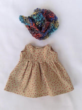 Load image into Gallery viewer, Ava Waldorf Girl Little Doll - Unique handmade toy - clothes