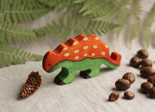 Load image into Gallery viewer, The Euoplocephalus - Wooden Dino Handmade Montessori Open-ended Toy