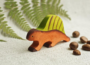 The Dimetrodon - Wooden Dinosaur Handmade Montessori Open-ended Toy