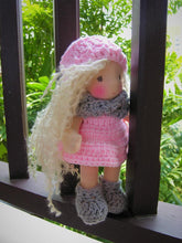 Load image into Gallery viewer, Rasa Waldorf Girl Little Doll - Unique handmade toy