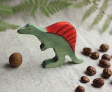 Load image into Gallery viewer, The Spinosaurus - Wooden Dinosaur Handmade Montessori Open-ended Toy