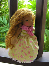 Load image into Gallery viewer, Bisa Waldorf Girl Little Doll - Unique handmade toy