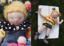 Load image into Gallery viewer, Luzie Waldorf Big Doll - Handmade Unique Toy OOAK
