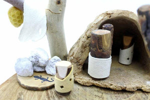 Cave Family Primitive Life - Waldorf Handmade Unique Toy