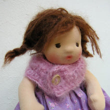Load image into Gallery viewer, Lola Waldorf Girl Little Doll - Unique handmade toy