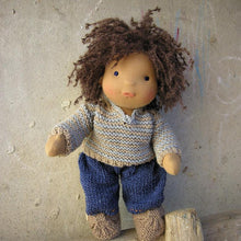 Load image into Gallery viewer, Ziggy Waldorf Boy Big Doll - Unique handmade toy