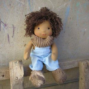 Ziggy Waldorf Boy Big Doll - Unique handmade toy