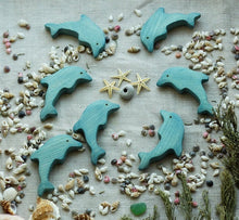 Load image into Gallery viewer, The Dolphin - Wooden Sea Animal Handmade Montessori Open-ended Toy