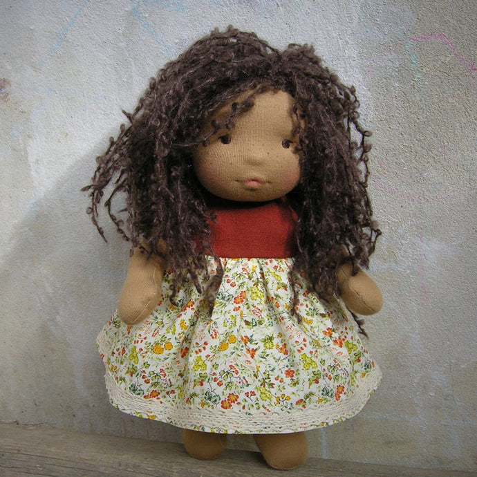 Marina Waldorf Girl Medium Doll - Unique handmade toy