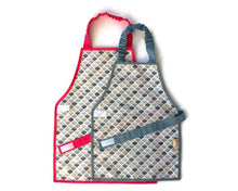 Load image into Gallery viewer, Montessori Honeycomb Apron - Support Children´s Independence