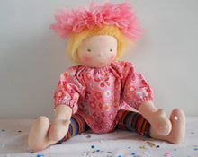 Load image into Gallery viewer, Tessa Waldorf Big Doll - Unique handmade toy