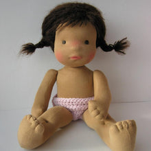 Load image into Gallery viewer, Erhi Waldorf Girl Big Doll - Unique handmade toy
