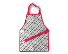 Load image into Gallery viewer, Montessori Honeycomb Pink Apron - Support Children´s Independence