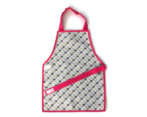 Montessori Honeycomb Pink Apron - Support Children´s Independence