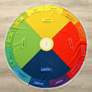 Annual Circular Calendar - Montessori Learning by Playing Materials