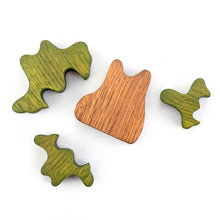 Load image into Gallery viewer, Spring Small Fir Tree - Wooden Handmade Montessori Open-ended Toy