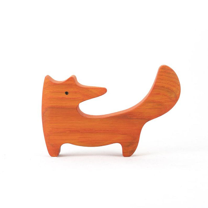 The Fox - Wooden Animal Handmade Montessori Open-ended Toy