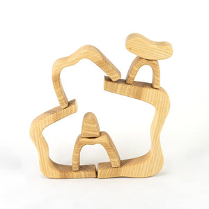 Nature Gateway- Wooden Handmade Stacking Open-ended Toy