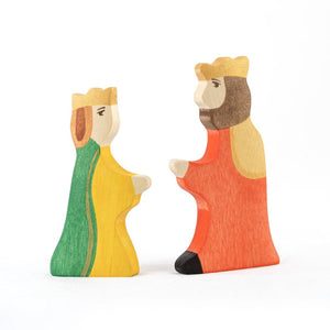 The King  and the Queen- Fairy Wooden Handmade Montessori Waldorf Open-ended Toy