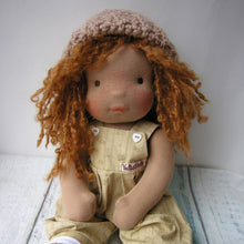 Laden Sie das Bild in den Galerie-Viewer, Tika Waldorf Girl Big Doll - Unique handmade toy