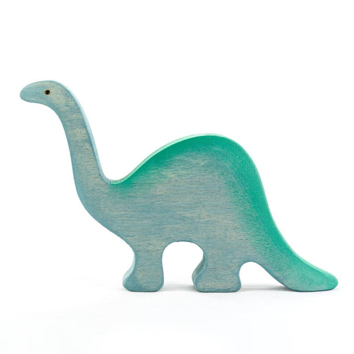 The Diplodocus - Wooden Dinosaur Handmade Montessori Open-ended Toy