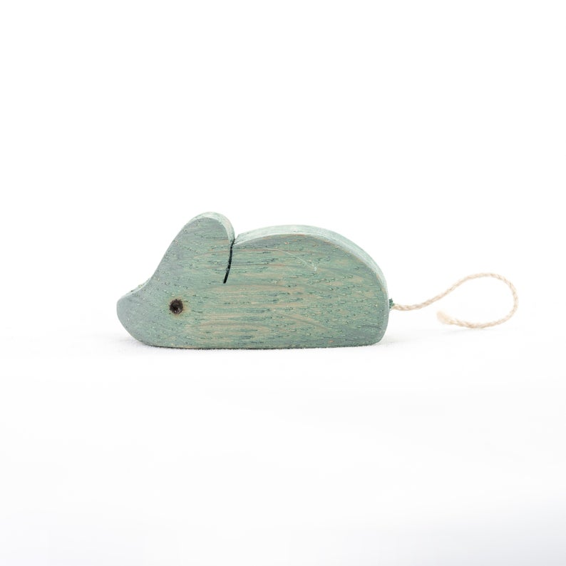 The Mouse - Wooden Animal Handmade Montessori Open-ended Toy
