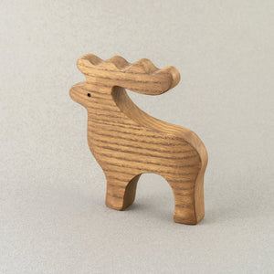 The Deer - Wooden Animal Handmade Montessori Open-ended Toy