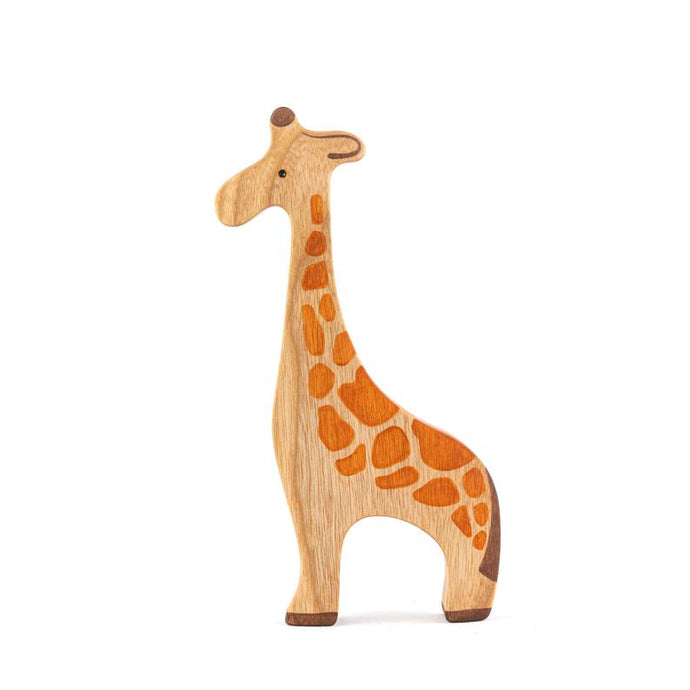 The Giraffe - Wooden Animal Handmade Montessori Open-ended Toy