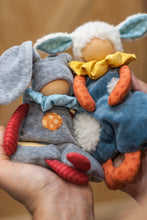 Load image into Gallery viewer, Bunny and Sheep Waldorf First Doll - Unique handmade toy
