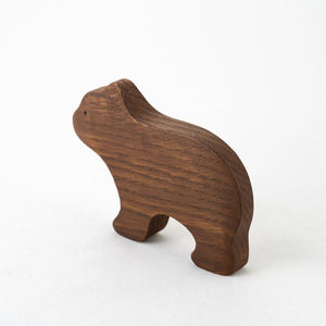 The Bear - Wooden Animal Handmade Montessori Open-ended Toy