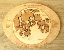 Load image into Gallery viewer, Moon Map Puzzle - Montessori Learning by Playing Materials
