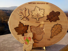 Load image into Gallery viewer, Wooden Trees Leaves Puzzle - Montessori Learning by Playing Materials