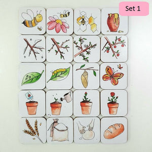 Sequencing Puzzle - Handmade Montessori Learning by Playing Materials