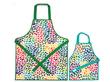 Load image into Gallery viewer, Montessori Rainbow Drops Apron