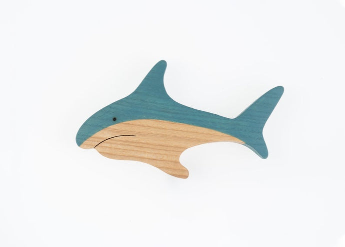 The Shark - Wooden Sea Animal Handmade Montessori Open-ended Toy
