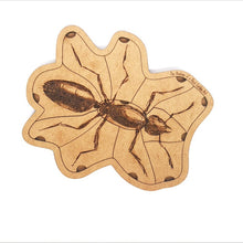 Load image into Gallery viewer, Anatomy of a Black Garden Ant Puzzle - Montessori Learning by Playing Materials