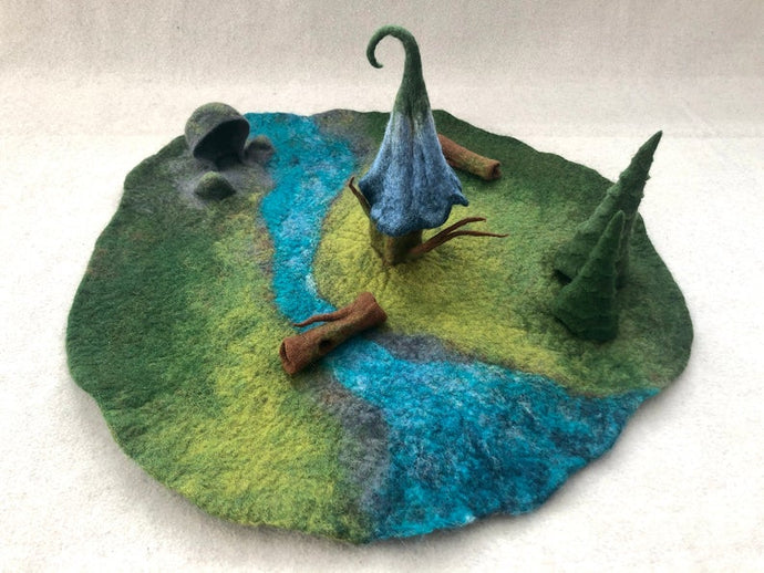 Fairy House Playmat - Handmade for Imaginative and Open-ended Play