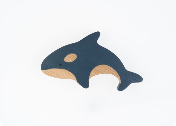 The Killer Whale -Wooden Sea Animal Handmade Montessori Open-ended Toy
