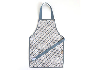 Montessori Honeycomb Grey Apron - Support Children´s Independence