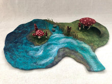 Charger l'image dans la galerie, Mushroom House Playmat  - Handmade for Imaginative and Open-ended Play