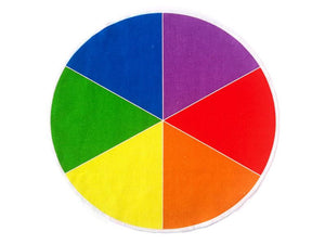 Color Sorting Circle - Montessori Learning by Playing Materials