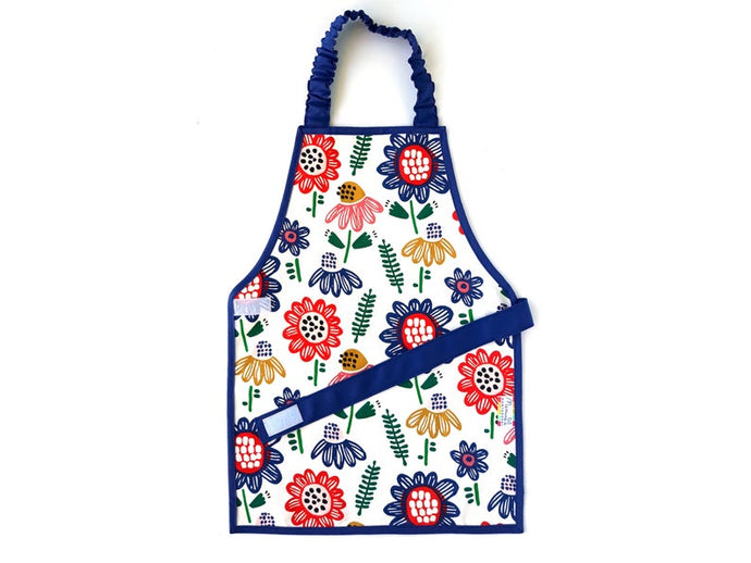 Montessori Summer Flowers Apron - Support Children´s Independence