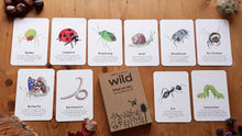 Load image into Gallery viewer, Minibeasts Educational Cards Set- Flashcards Learning by Playing Materials