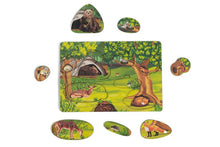 Load image into Gallery viewer, Forest Animals Puzzle - Montessori Learning by Playing Materials
