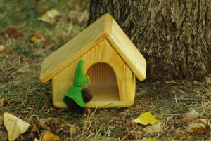 Woodland Fairy House- Waldorf Handmade Unique Toy