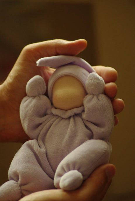 Baby Waldorf First Doll - Unique handmade toy